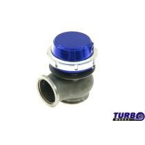 Külső wastegate TurboWorks 40mm 0,5 Bár V-Band Kék
